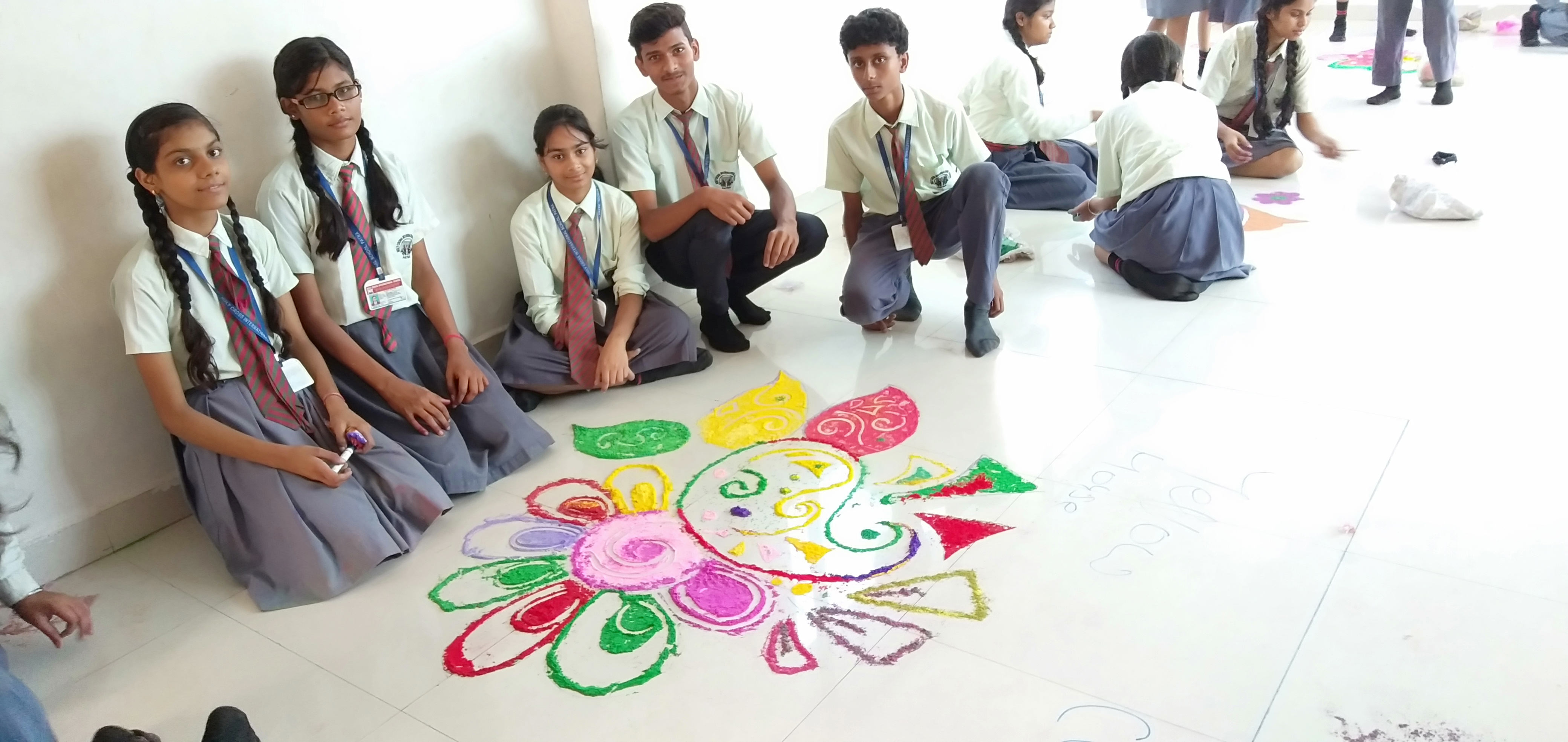 Rangoli Making Competition 2