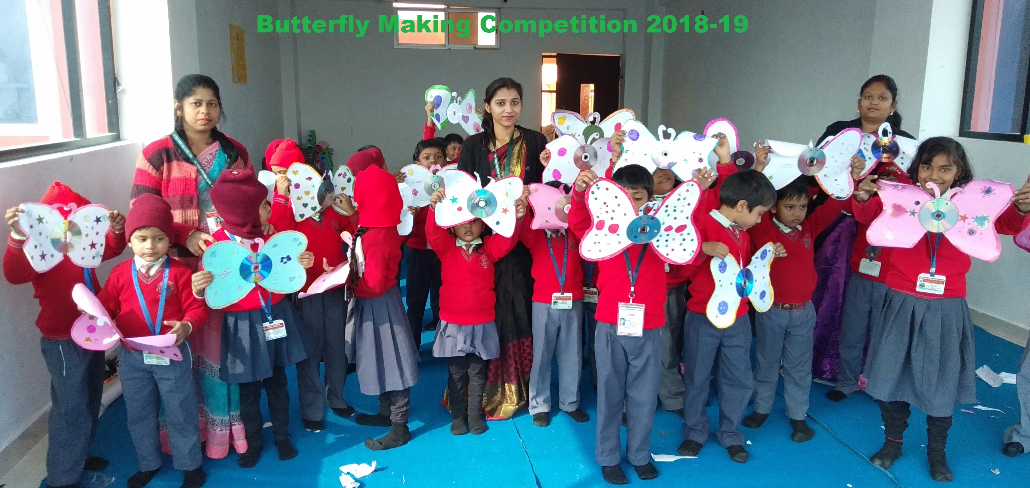 Butterfly Making Competition 2018-19