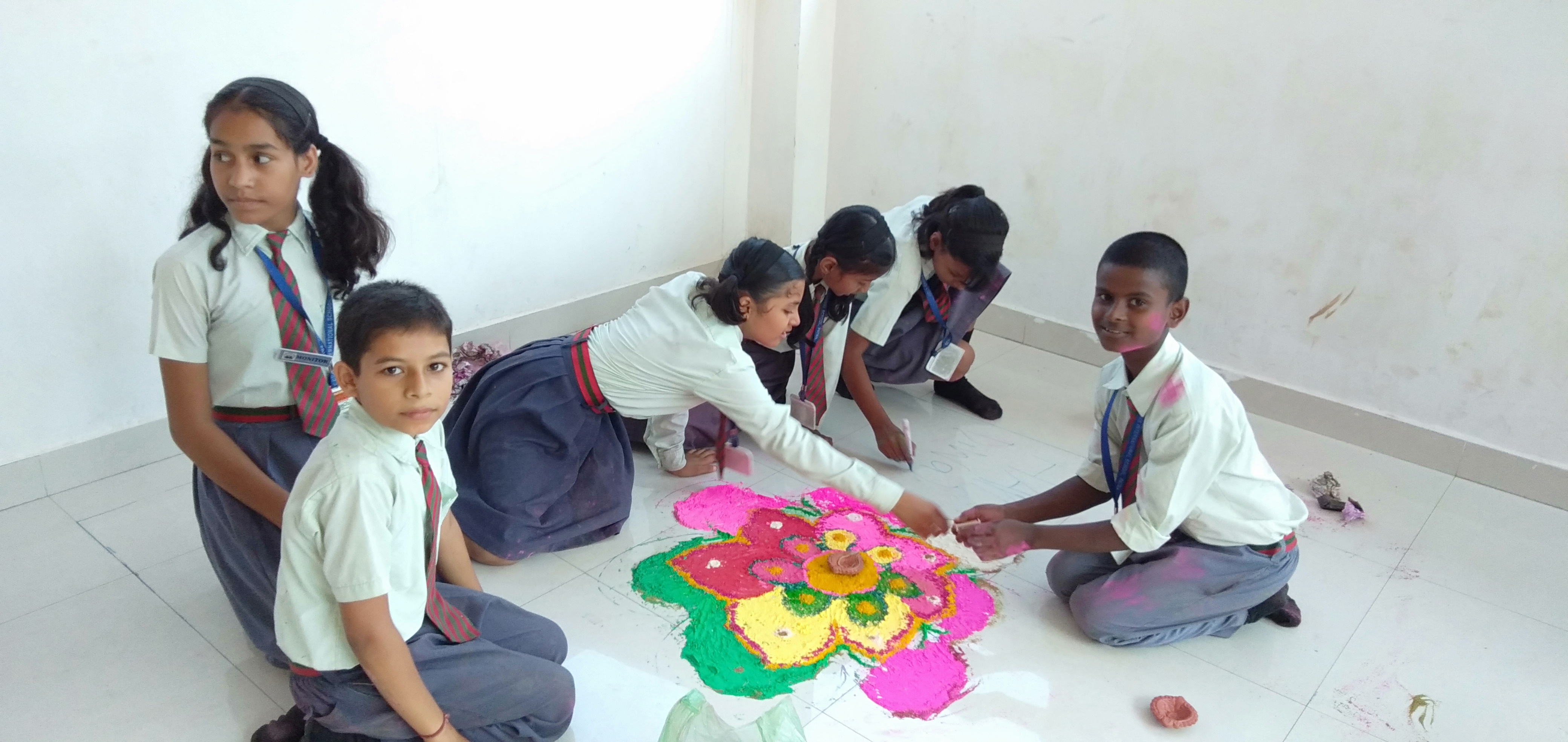 Rangoli Making Competition 3